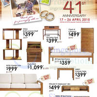 Read more about Scanteak 41st Anniversary Specials @ Isetan Scotts 17 - 26 Apr 2015