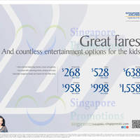 Read more about Singapore Airlines Promo Fares 24 Mar - 30 Apr 2015