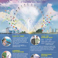 Read more about Singapore Flyer May Day Family Fiesta 1 - 3 May 2015