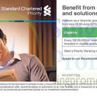 Standard Chartered Invest & Get Free Takashimaya Gift Vouchers 19 Apr - 30 Jun 2015