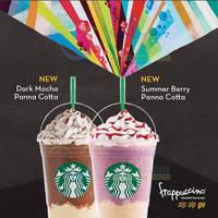 Read more about Starbucks NEW Dark Mocha Panna Cotta & Summer Berry Panna Cotta Frappuccinos 16 Apr 2015