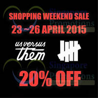 Read more about Stussy Weekend Sale 23 - 26 Apr 2015