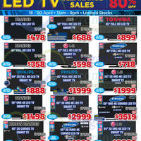 Audio House Electronics, TV, Notebooks & Appliances Offers 18 - 20 Apr 2015