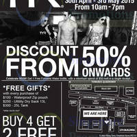 Read more about TYR Warehouse Sale @ Kewalram House 30 Apr - 3 May 2015
