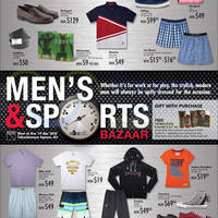 Read more about Takashimaya Men's & Sports Bazaar 1 - 19 Apr 2015