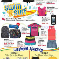 Read more about Takashimaya Swim & Surf Offers @ Takashimaya D.S. 22 Apr - 5 May 2015