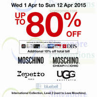 Takashimaya Branded Sale 1 - 12 Apr 2015