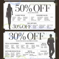 Read more about Takashimaya Up To 50% Off Selected Items Labour Day Treat 30 Apr - 3 May 2015