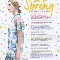 Read more about Centrepoint Joys Of Spring Promotions 10 Apr - 24 May 2015