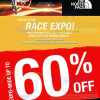 Read more about The North Face Up To 60% Off @ Suntec City Mall 24 - 26 Apr 2015