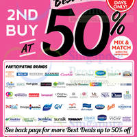 Read more about Watsons Buy 1 Get 1 Free Selected Items & 50% Off 2nd Buy Promotion 23 - 29 Apr 2015
