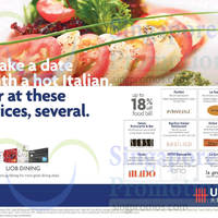 Read more about UOB Cards Italian Dining Offers 16 Apr 2015
