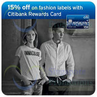 Read more about Bread & Butter, True Religion & More 15% OFF For Citibank Rewards Cardmembers 13 Apr - 30 Sep 2015