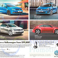 Read more about Volkswagen Polo, Golf, New Jetta & Beetle Offers 3 Apr 2015