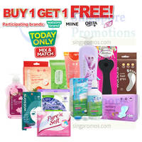 Read more about Watsons Buy 1 Get 1 FREE Selected Brands 1-Day Promo 15 Apr 2015