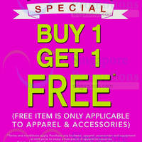 Read more about World of Sports, Columbia, Mizuno Buy 1 Get 1 Free Promo 30 Apr - 3 May 2015