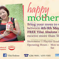 Read more about Yilai Abalone Mother's Day Promotion 4 - 9 May 2015