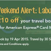 Read more about Zuji Singapore Up To $210 OFF Rebate For AMEX Cardmembers 6 - 19 Apr 2015