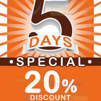iwannagohome Buy $100 Worth & Get 20% Off 29 Apr - 3 May 2015