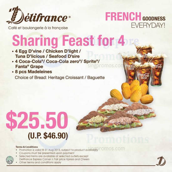 Delifrance promotion coupons