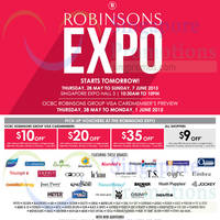 Read more about Robinsons Expo @ Singapore Expo 28 May - 7 Jun 2015