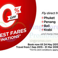 Read more about Air Asia 50% Off All Destinations Promo Fares 18 - 24 May 2015
