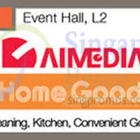 Aimedia Ideal Home Goods Fair @ Tampines Mall 7 - 13 May 2015