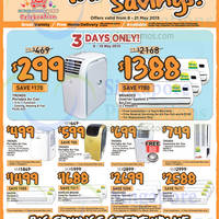 Read more about Giant Hypermarket Air Conditioners, Fans & More Offers 8 - 21 May 2015