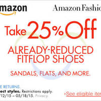 Read more about FitFlop 25% OFF Already-Reduced Shoes (NO Min Spend) Coupon Code 12 - 19 May 2015