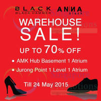 Read more about Black Hammer & Anna Black Warehouse Sale @ Two Locations 18 - 24 May 2015