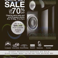 Read more about Bowers & Wilkins Up To 70% Off Sale @ Two Locations 8 - 10 May 2015