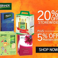 Read more about Brand's Health Drinks 25% OFF 1-Day Coupon Code 7 Jul 2015