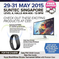 Read more about Consumer Electronics Exhibition (CEE 2015) @ Suntec Singapore 29 - 31 May 2015