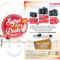 Read more about Canon Digital Cameras Up To $200 Cashback Offer 1 Apr - 28 Jun 2015