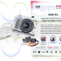 Read more about Canon EOS M3 Digital Camera 21 May 2015
