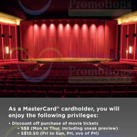 Read more about Cathay Cineplexes $8 Discounted Tickets For Mastercard Holders 18 May - 31 Dec 2015