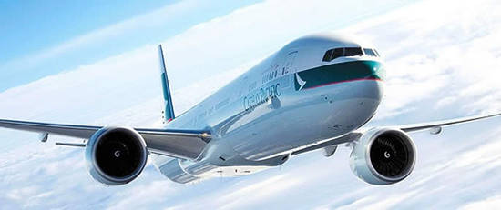 Cathay Pacific Plane Logo 7 May 2015