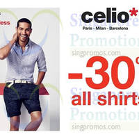 Read more about Celio* 30% Off All Shirts Promo 11 - 26 May 2015