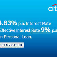 Read more about Citibank Personal Loans 4.83% p.a. Interest Rate Welcome Offer 17 - 31 May 2015