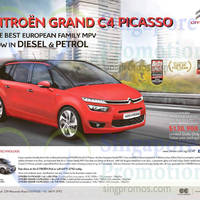 Read more about Citroen Grand C4 Picasso Offer 23 May 2015