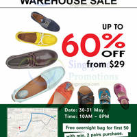 Clarks Warehouse Sale 30 - 31 May 2015
