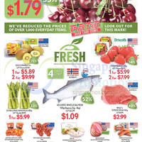 Cold Storage $1.09/100g Salmon Promotion 30 May - 1 Jun 2015