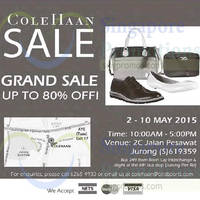 Read more about Cole Haan Grand Sale 2 - 10 May 2015