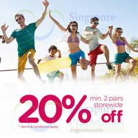 Crocs 20% Off Sale Items @ Changi City Point 29 May 2015