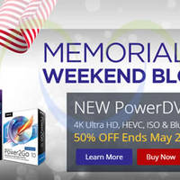 CyberLink 50% OFF PowerDVD 15 Ultra Movie & Media Player Software 23 - 26 May 2015