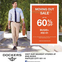 Read more about Dockers Moving Out Sale @ Bugis+ 26 May 2015