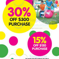 Read more about Early Learning Centre 15% to 30% Off GSS Promo 21 May 2015