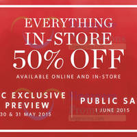 Esprit 50% Off Everything From 1 Jun 2015