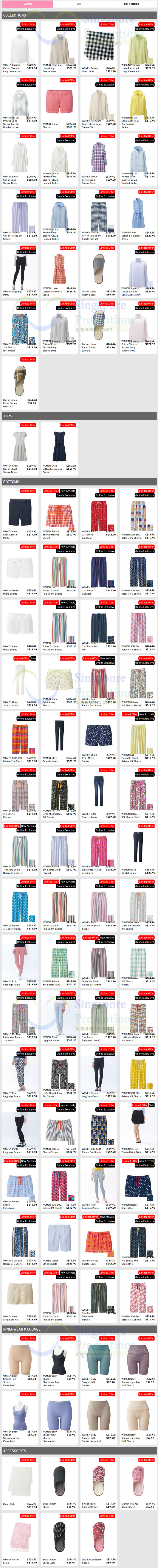 (Est till 21 May) Womens Limited Offers