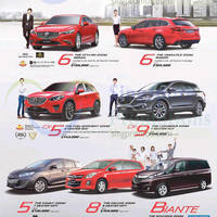 Read more about Mazda 6, CX-5, CX-9, 5, 8 & Biante Demo Units Offers 9 May 2015